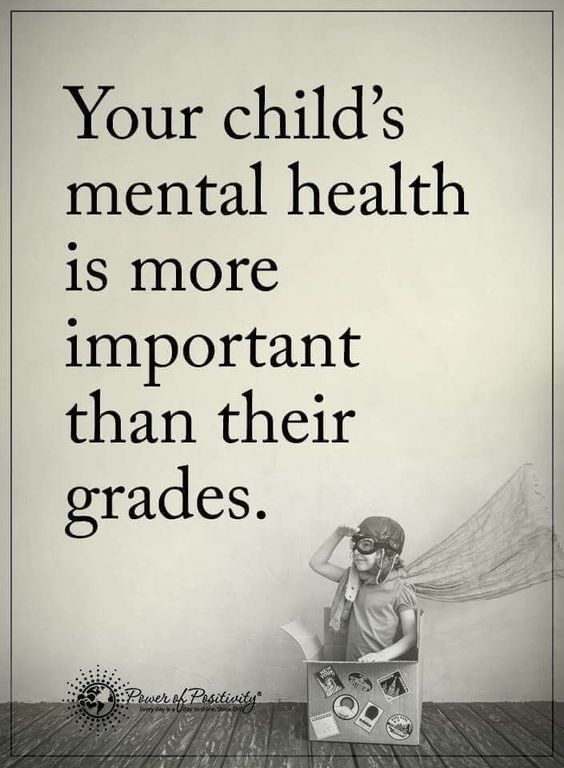 Your Child's Mental Health