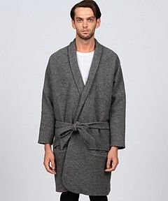 Lucio Vanotti grey coat - fw14/15- at guyafirenze.com