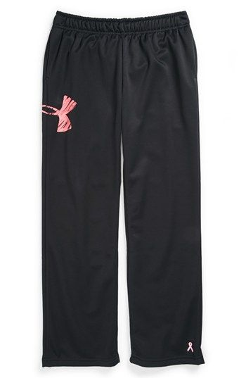 Under Armour 'Power In Pink®' Fleece Pants (Big Girls) available at #Nordstrom