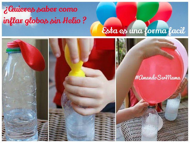 Si en tu próxima fiesta infantil, quieres sorprender a todos con globos flotando…