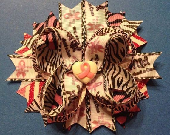 6 Handmade Wild About a Cure Breast Cancer Awareness