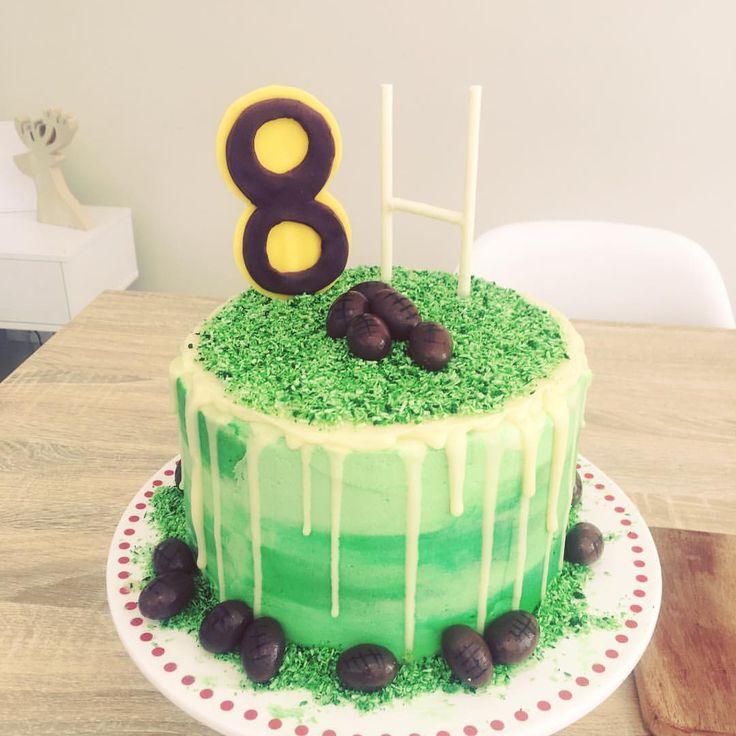 Eisha Eisel Hobby Cakes On Instagram Football Themed Cake Nrl