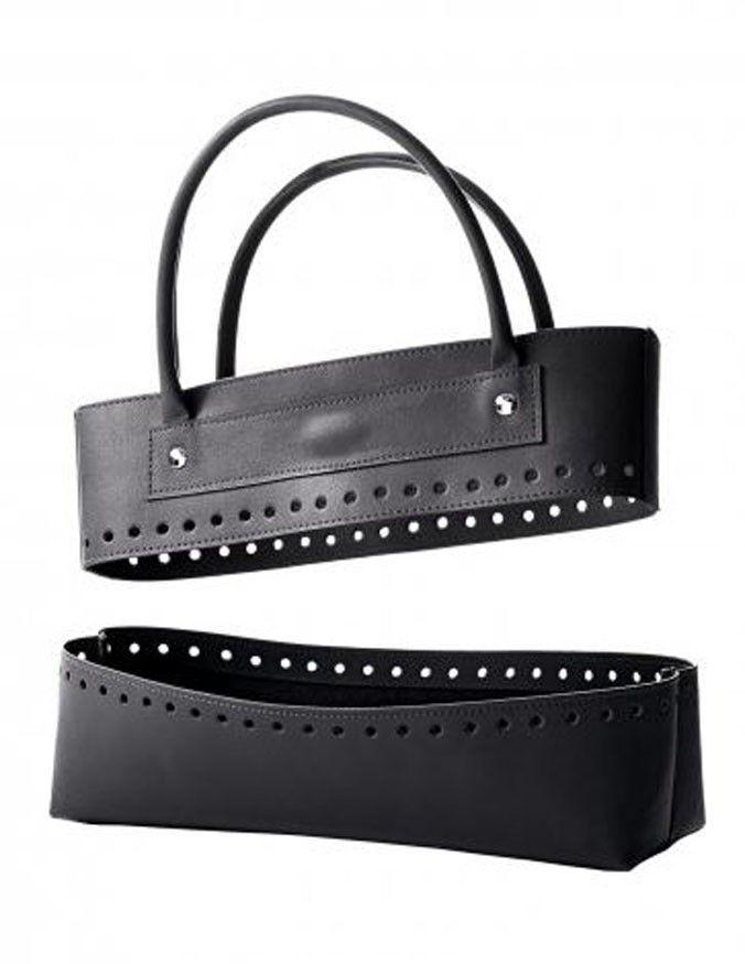 Leather Effect Bag Kit - Noir | Deramores