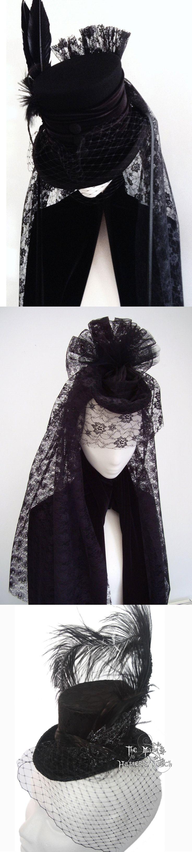 Shop Halloween gothic Victorian hats for women at RebelsMarket!