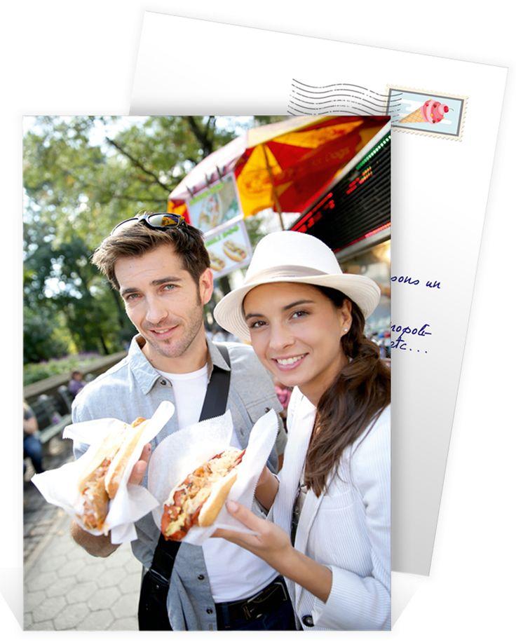 Carte postale personnalisée pour envoyer vos plus beaux moments  en vacances à vos proches, ref N241131