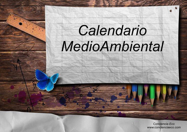 Este Calendario MedioAmbiental o ecocalendario está inspirado en la importancia que tiene el cuidado del medio ambiente para la vida del planeta, y nace con el deseo de ser una pequeña contribuciónen la difusión de información, concienciación y sensibilización en la sociedad.  Durante el añ...