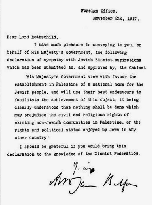 Letter to Lord Rothschild about establishing in Palestine a - training proposal template