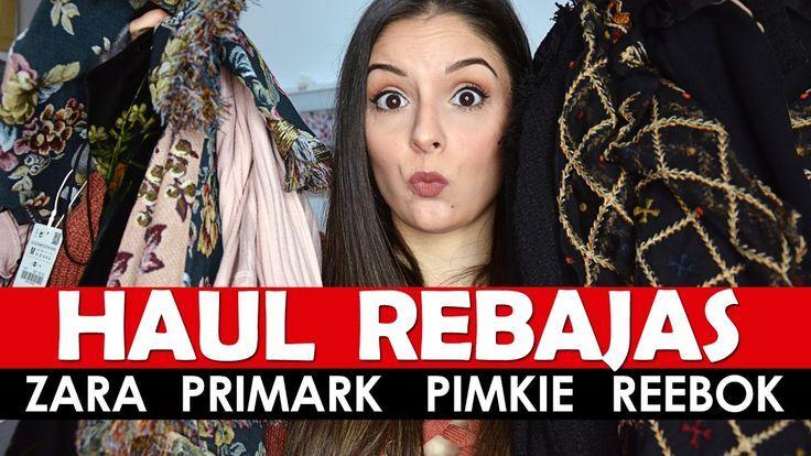 SUPER HAUL REBAJAS ROPA Zara, Primark, Pimkie, Reebok, Sephora, Maybelli...