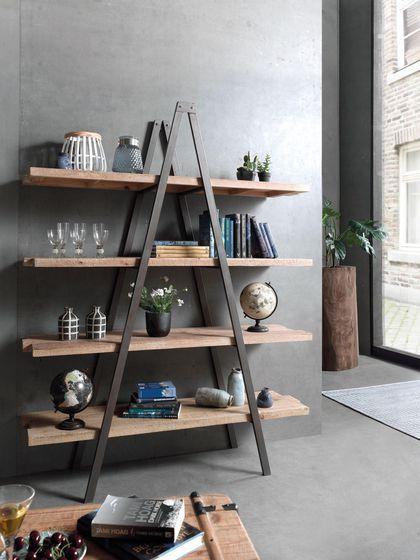 Quand l'étagère se fait meuble déco, Cocktail Scandinave
