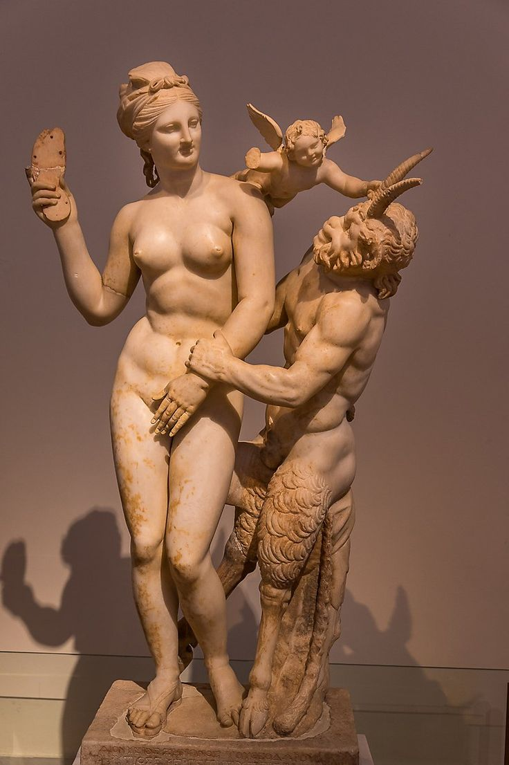 Aphrodite Pan and Eros