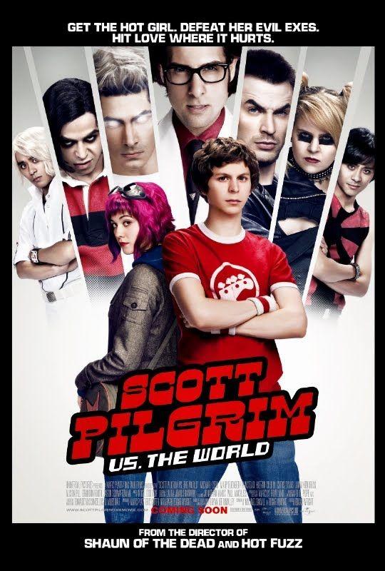 Scott Pilgrim. BEST. MOVIE. EVER.Film, Movie Posters, Scott Pilgrim, Edgar Wright, L'Wren Scott, Michael Cera, Scott Pilgram, Favorite Movie, The World