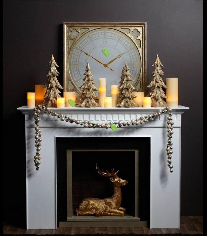 Фото из статьи: Как сделать декоративный камин изюминкой интерьера: 6 советов