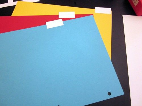 DIY How to Make Binder Divider Pages for Household Notebook or School Supplies - Amy Bayliss