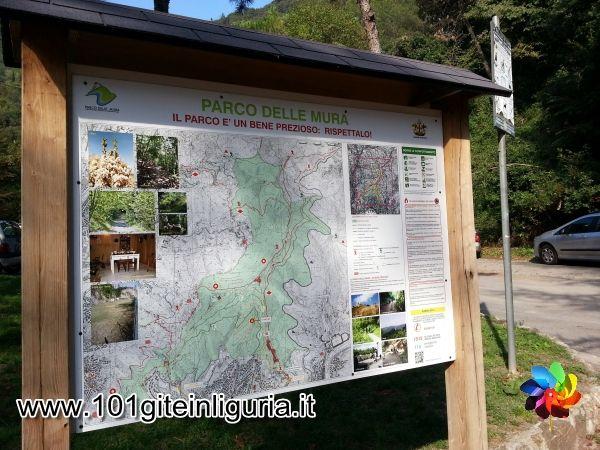 Servizio completo su http://www.101giteinliguria.it/index.php/ce-il-sole/genova/450-il-parco-delle-mura
