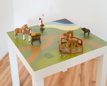 Ikea-Hack Natur – Spielemöglichkeit im Kinderzimmer