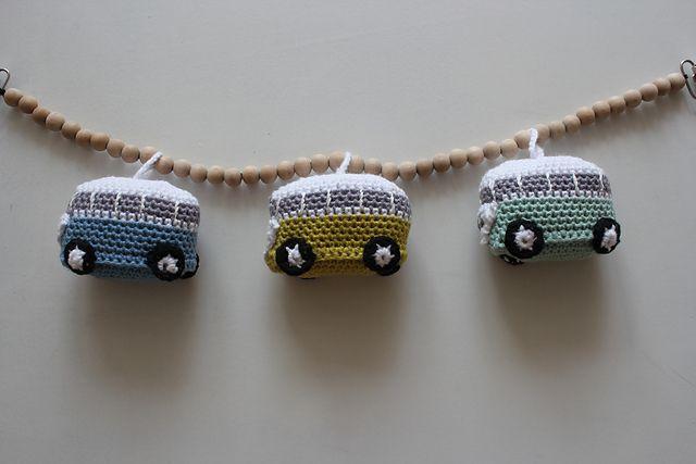 Mini folkevognsrugbrød pattern by Susanne Stephansen