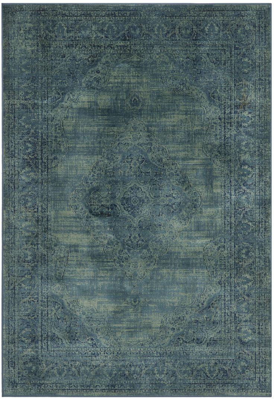 Brenna Turquoise Area Rug