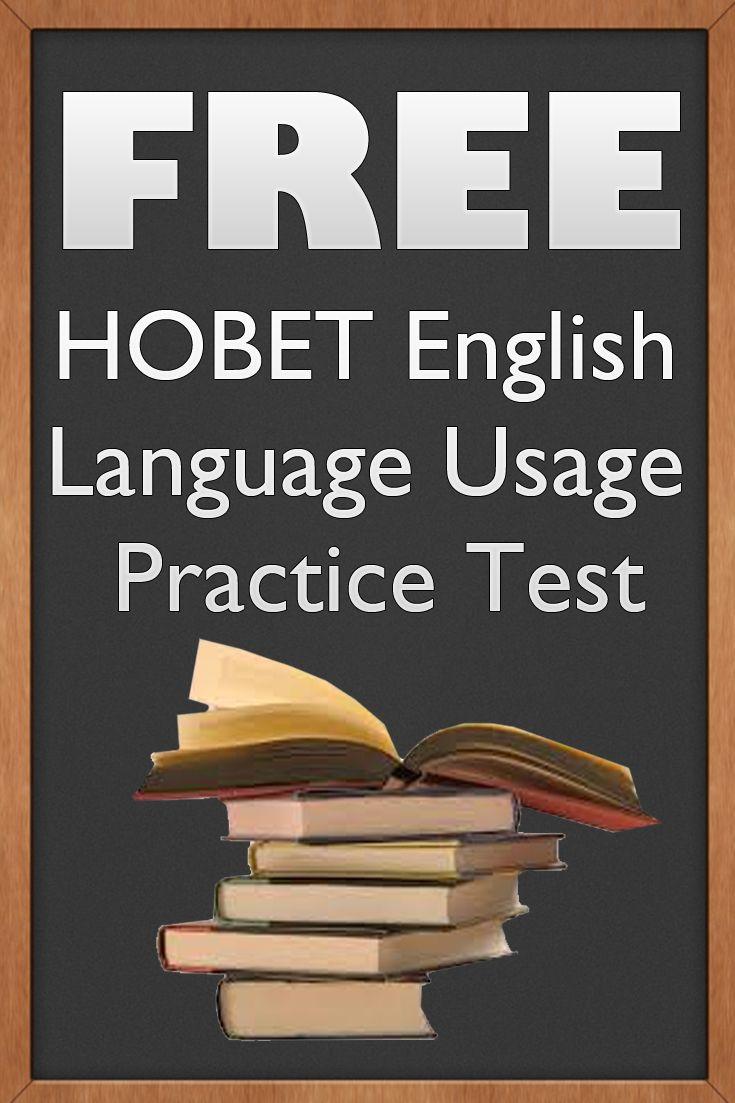 HOBET V Sample Questions 2019 - Tests-Questions.com