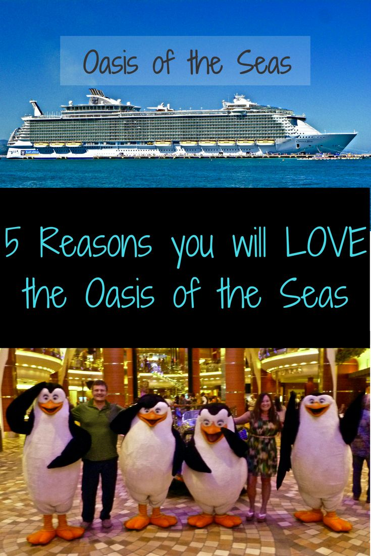 Oasis of the Seas is one of Royal Caribbean's biggest ships! It was the first in their Oasis class of ships. There is so much to do on this ship that you will never be bored! The ship is so big you rarely, if ever feel it moving. I forget sometimes that I am on a ship in the middle of the ocean! And because it is so big, you don't even notice the 6,000 other passengers.