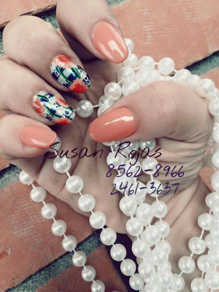 18 best Diseños en uñas images on Pinterest | Stiletto nails, Bright ...