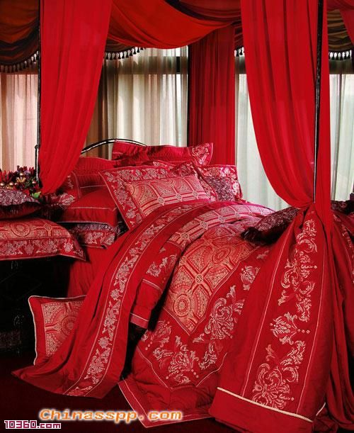 50 best wedding room decoration images on pinterest wedding hall love this red bedroom junglespirit Gallery