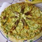 La frittata al forno con le signore zucchine
