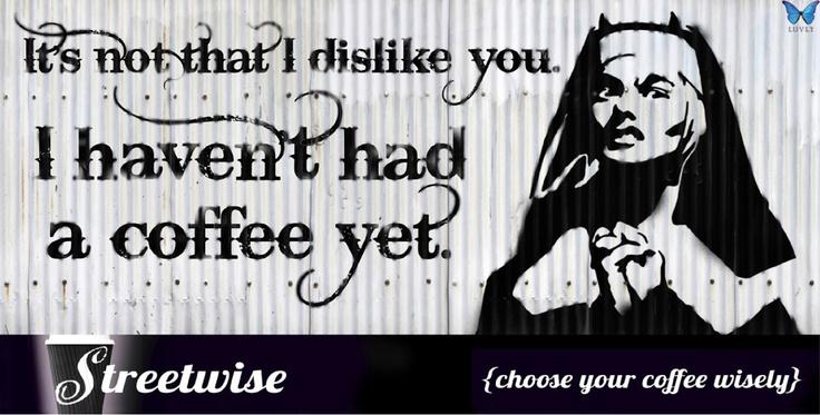 Streetwise Coffee, New Zealand. Billboard, by Luvly Ltd. www.luvly.co.nz