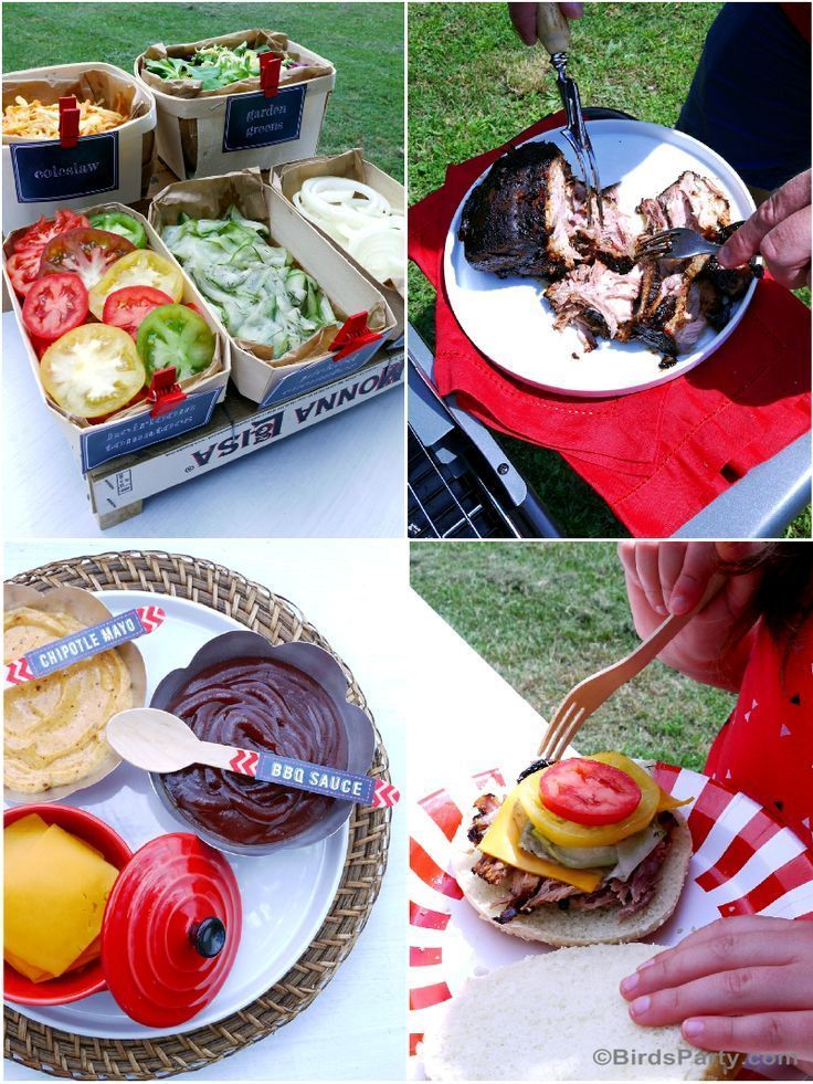 Bbq Cookout Summer Party Ideas Delicious Recipes Food Drinks Diy Easy Table Decor And General Grilling Fun