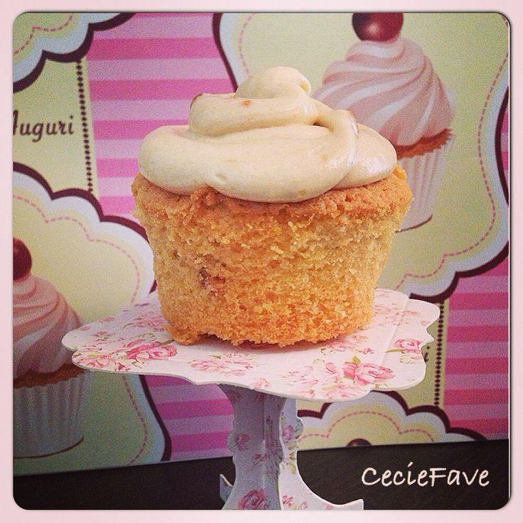 Cupcakes al burro di arachidi