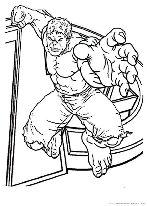 14 best Ausmalbilder Hulk images on Pinterest | Hulk, Hulk coloring ...