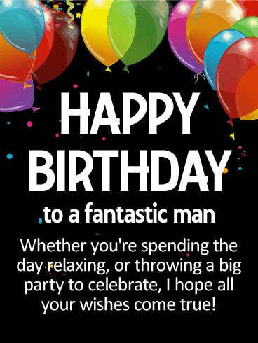 73 best Birthday Cards for Him images on Pinterest | Happy ...Happy Birthday For Men Wishes