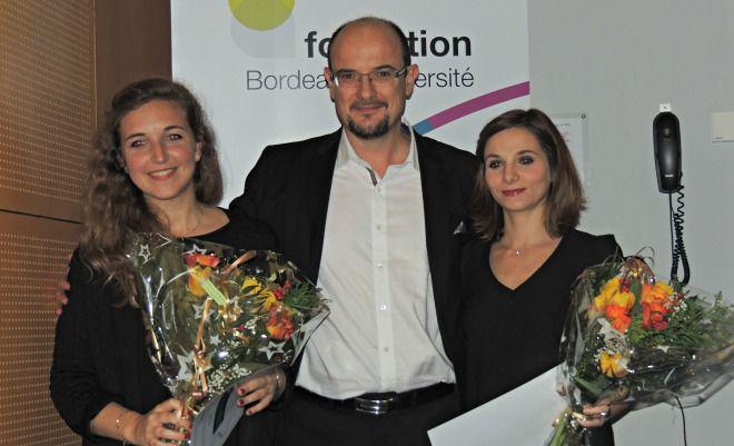 """Le jeudi 11 décembre, 6 prix ont été décernés à des étudiants de l'université de Bordeaux dans le cadre d'une """"soirée santé"""" à l'amphithéâtre de l'ISPED"""