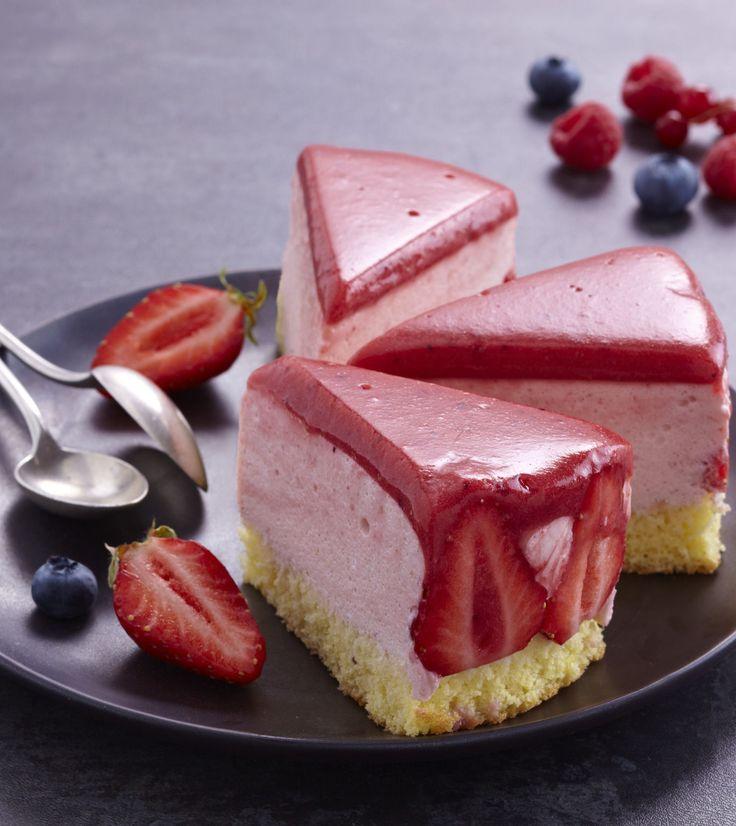 Bavarois aux fraises au Thermomix®