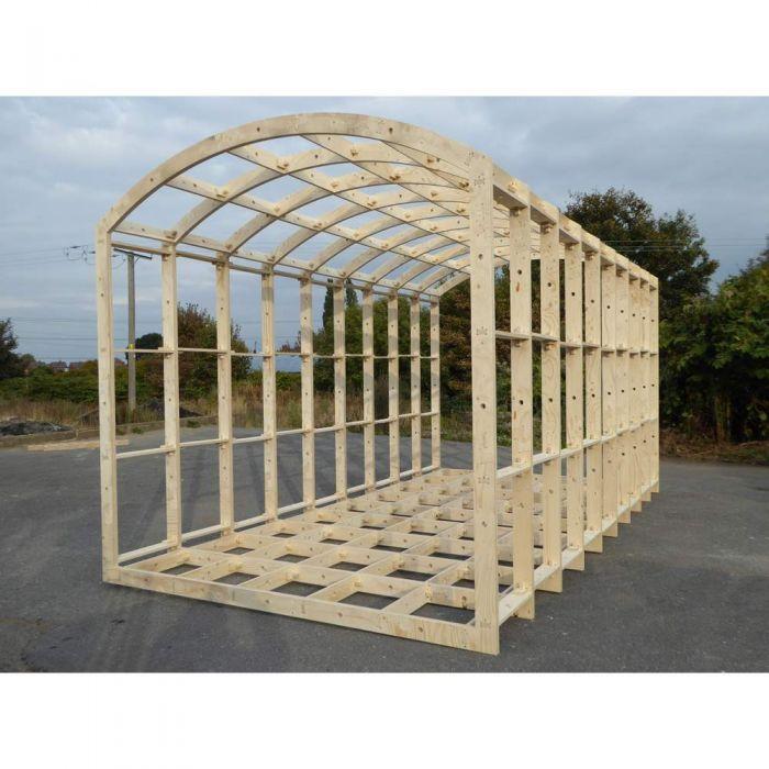 Shepherd Hut Floor Plans: Shepherds Hut Frame Kit 4200mm X 2590mm In 2020