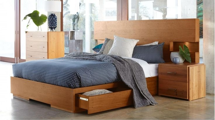 Amelie Bed Base with Slats | Domayne
