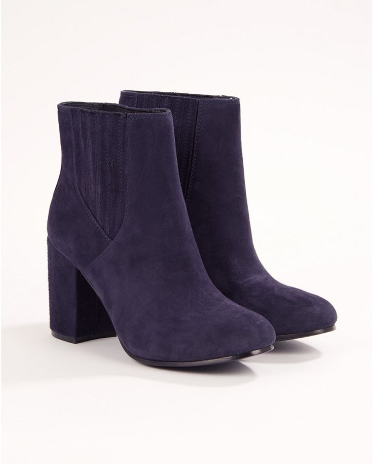 Navy Feeling Heeled Boot - Win your #ARWishlist at @atterleyroad