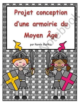 Conception dune armoirie (Design a Coat of Arms in French) from Mrs R Mathis on TeachersNotebook.com (12 pages)  - Conception dune armoirie (Design a Coat of Arms in French)