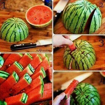 Come tagliare velocemente il melone