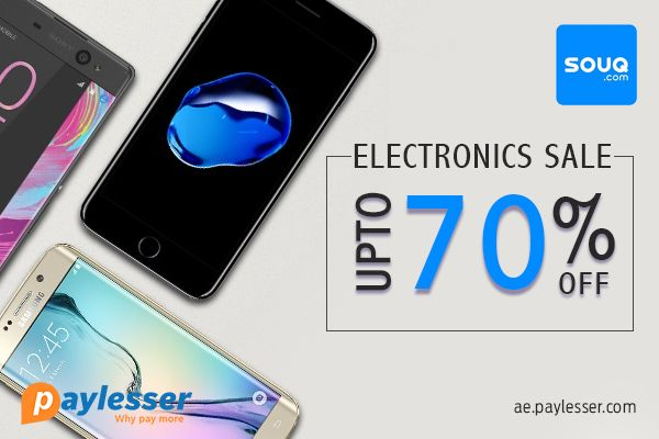 Get the best deals on products from Souq and save up to 70%. #Souq #offer #Paylesser Why pay more?