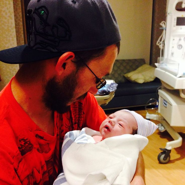 My No. 1 and oldest grandson Ry and his first born Xander!  woo hoo