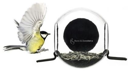 contemporary bird feeders by Scandinavian Design Center with a suction cup to stick to the window