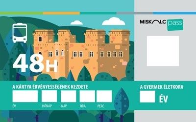 Miskolc Pass card for children