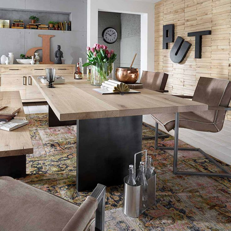 Die besten 25+ Lackierte küchentische Ideen auf Pinterest - moderne massivholz esszimmermobel