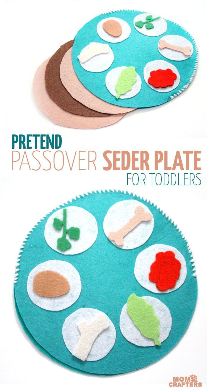 Interactive Celebrate Passover Toddlers Holiday Pretend Perfect Jewish Pesach Seder Plate Craft This Ma Seder Plate Passover Crafts Pesach Crafts