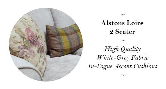 Alstons Upholstery Loire Two Seater Sofa - Reduced from £1,099 to £755!
