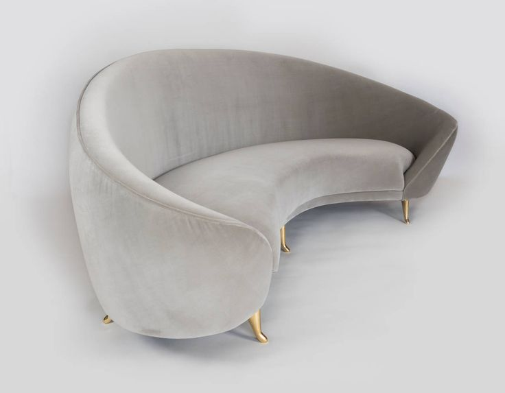 Arc Sofa | From a unique collection of antique and modern sofas at https://www.1stdibs.com/furniture/seating/sofas/