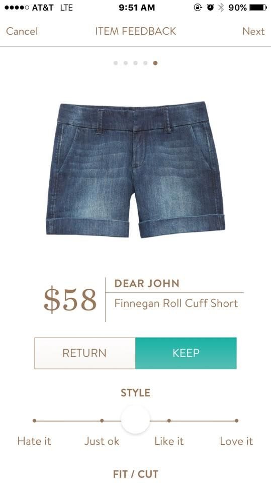 These love super comfortable! I need some great denim shorts for chasing my kids around all summer.