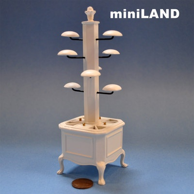 """The """"Olde Time"""" Store Miniature Quality Store Hat Rack Stand Dollhouse 1 12 