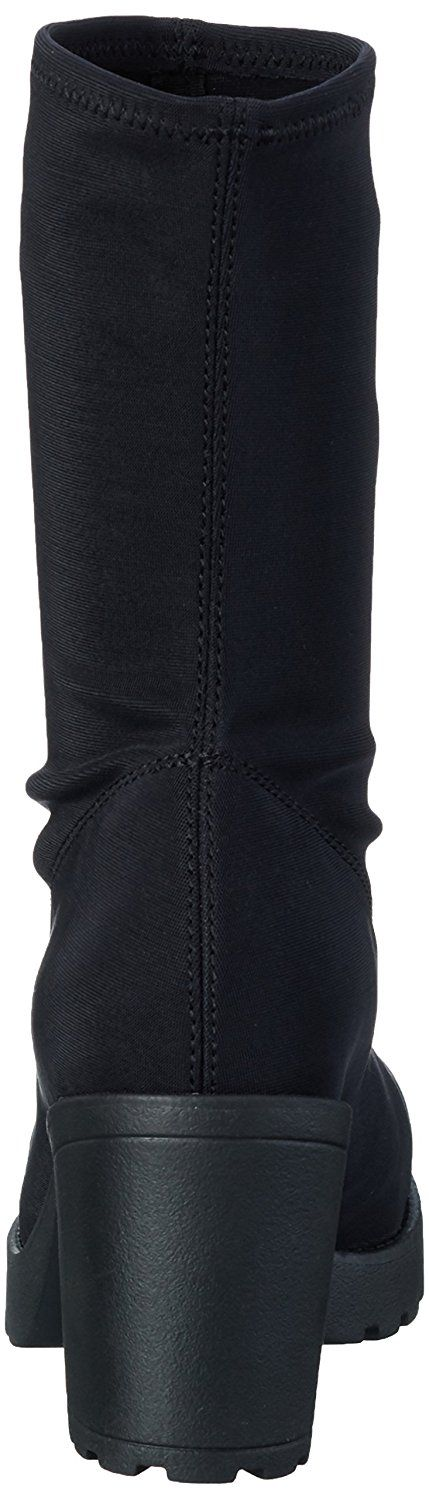 Womens Vagabond Grace Sock Fit Winter Fashion Black Calf Stretch Boot -- More info could be found at the image url. #shoes