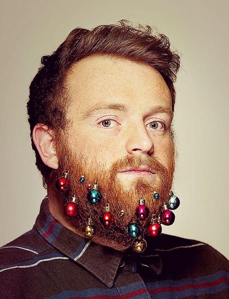 Beard Baubles - Weihnachtskugeln bzw. Christbaumkugeln für den Bart #beard #bauble #hipster #christmas #xmas